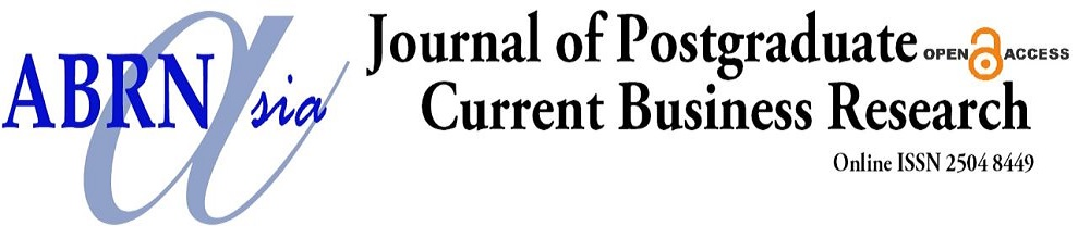 Journal of Postgraduate Current Business Research