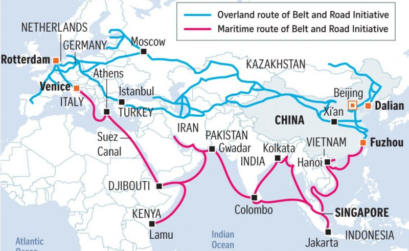 "Chine ""One Belt, One Road"""